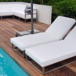single outdoor daybed